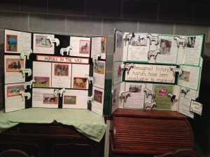 Educational exhibits at Frederick and Clarke County Fairs