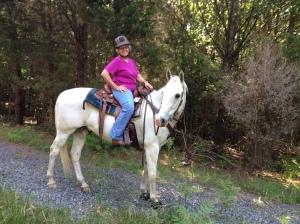 A happy trail rider.