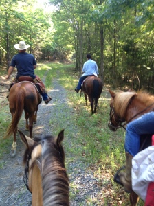 A pre-trail ride removes questions of the unknown.