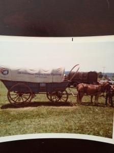 Our official Virginia wagon.