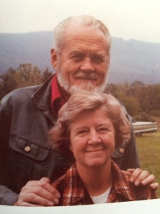 Our mother and Carl were married as soon as the Wagon Train was over.